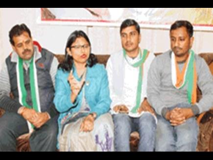 भाजपा सांसद को टक्कर देने दतिया मेडिकल कॉलेज की डॉक्टर ने की कांग्रेस में दावेदारी