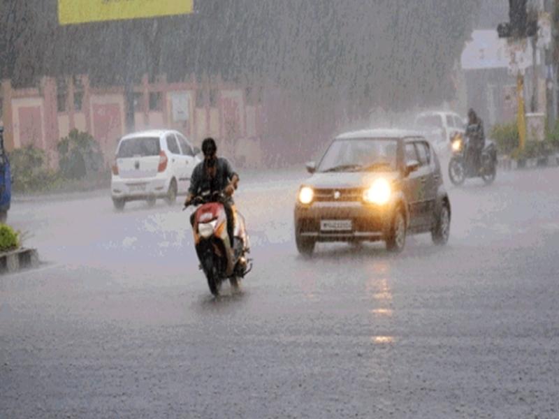Bhopal Weather Update : झमाझम बारिश के साथ विदाई, आधा घंटे में 1 सेंटीमीटर बारिश