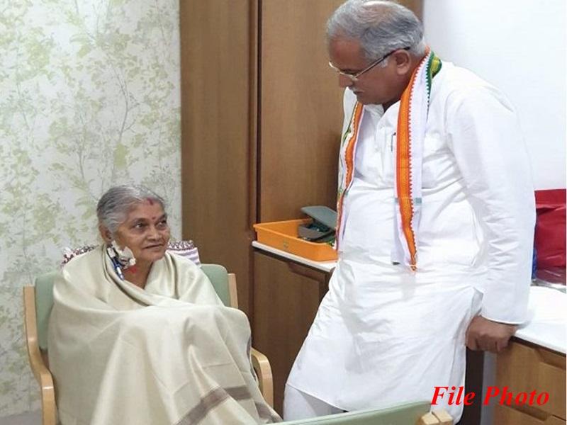 CM भूपेश की मां की हालत नाजुक, दिल्ली से पहुंची टीम