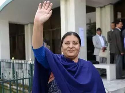 विद्या देवी भंडारी दूसरी बार बनीं नेपाल की राष्ट्रपति