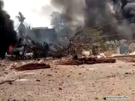 बिजनौर में केमिकल प्लांट में गैस का टैंक फटा, 6 की मौत और कई घायल