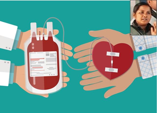 Blood Donation: एक महिला की जिद ने ठेठ ग्रामीणों में भर दिया रक्तदान का जुनून