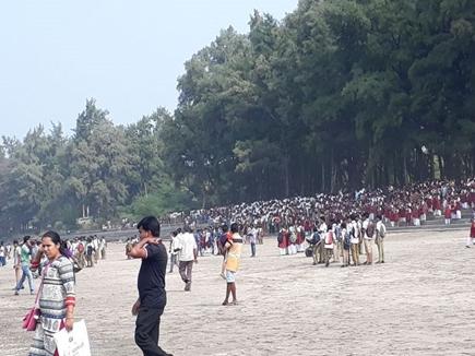 महाराष्ट्रः 40 बच्चों को ले जा रही नाव अरब सागर में डूबी, 4 की मौत, 32 को बचाया