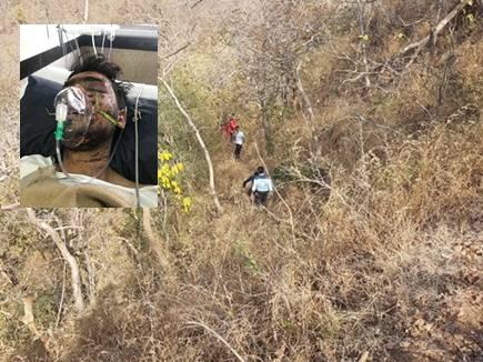 सिर कुचलकर 500 फीट गहरी खाई में फेंका, 5 दिन बाद मिला जिंदा