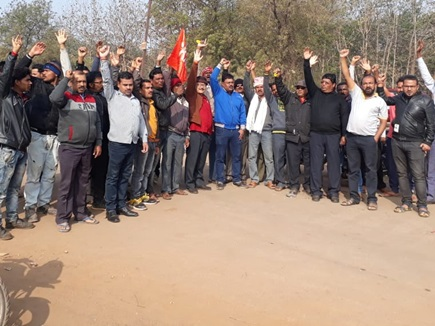 VIDEO : भिलाई इस्पात संयंत्र में मजदूरों की हड़ताल, उत्पादन पर पड़ा असर