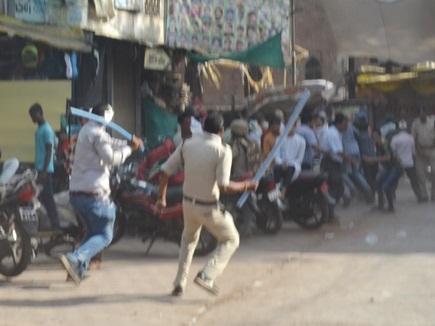 बुरहानपुर में कठुआ कांड को लेकर निकली रैली के दौरान उपद्रव