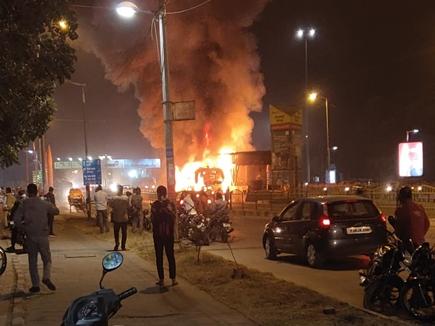 इंदौर में आई-बस में हुए अग्निकांड की होगी मजिस्ट्रीयल जांच