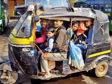 बस हड़ताल : ऑटो-टैक्सी वालों ने 120 की जगह वसूले 250 रुपए