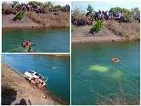 Jabalpur Car Drowned : बरगी में कार नहर में गिरी, एक शव बाहर निकाला गया