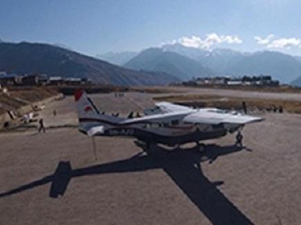 Nepal में कारगो विमान गिरा, दो की मौत