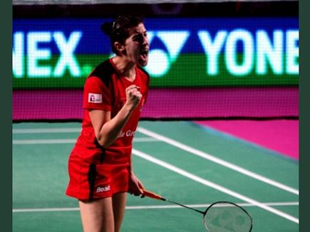 PBL 3: कैरोलिना मारिन ने हैदराबाद को फाइनल में पहुंचाया
