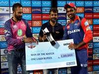 IPL-10 के पहले शतकधारी सैमसन के दम से जीती दिल्ली