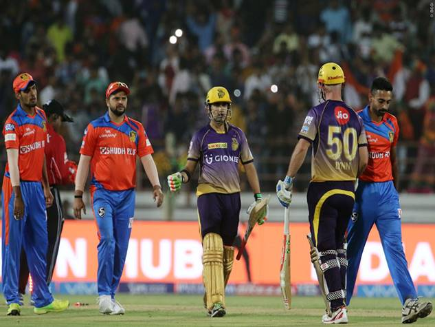 गौती-लिन के दम पर केकेआर ने गुजरात को 10 विकेटों से रौंदा