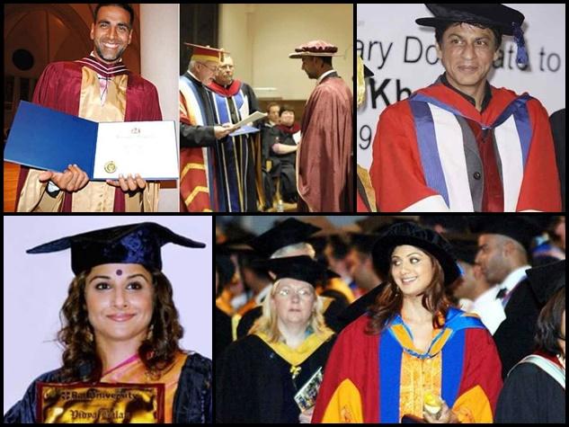 10 'पढ़ाकू' बॉलीवुड सितारे जिनके पास है डॉक्टरेट की डिग्री