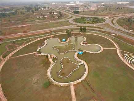 नया रायपुर : 32 करोड़ में तैयार हो रहा 70 एकड़ का सेंट्रल पार्क