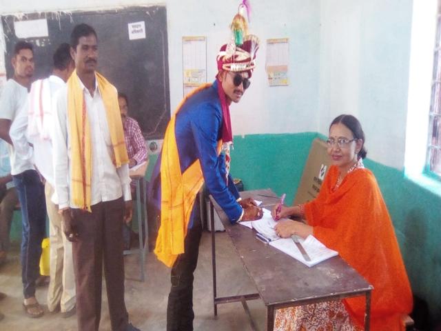3rd Phase Lok Sabha Election 2019 : सात सीटों पर 68 फीसद से अधिक मतदान