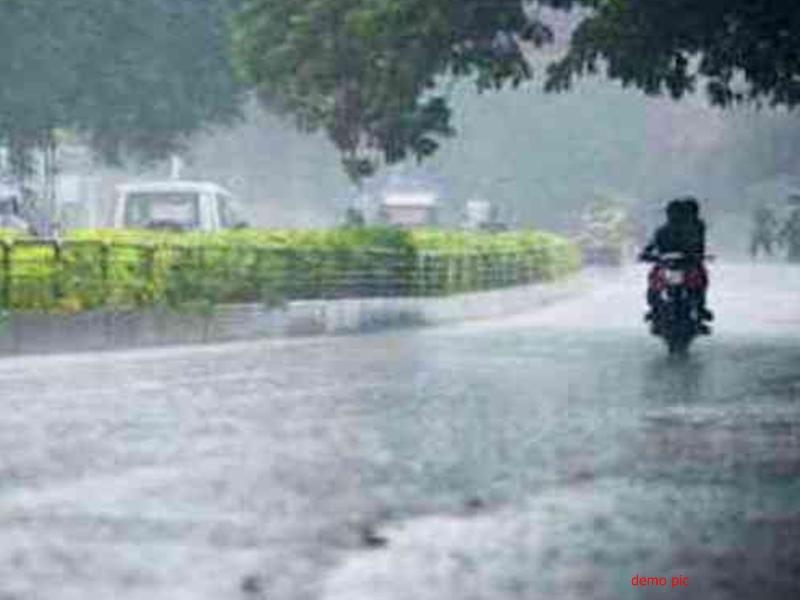 Rain in Chhattisgarh : मध्य छत्तीसगढ़ में तेज धूप के बाद जमकर बरसे बदरा