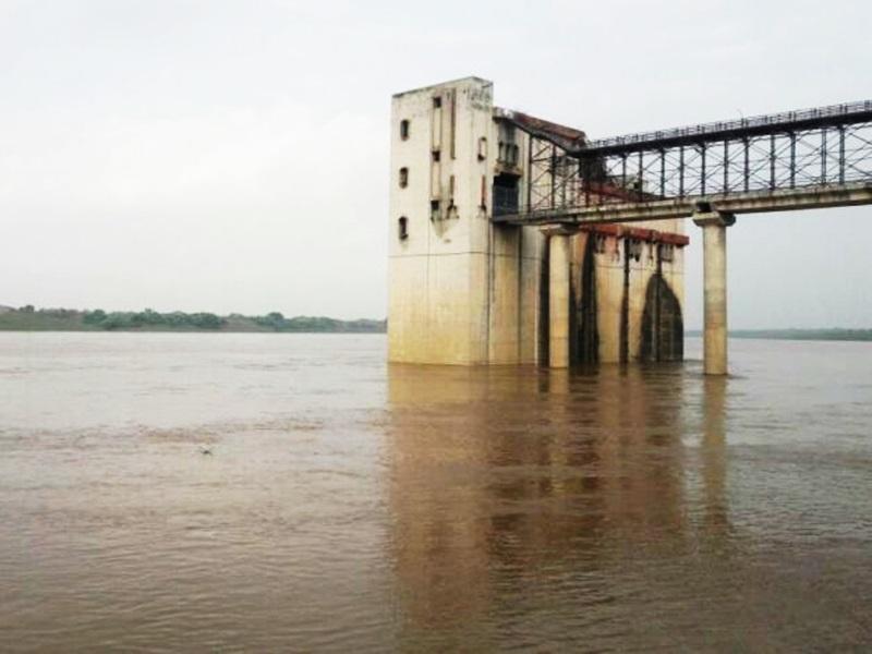 MP Weather Update : मुरैना में चंबल नदी खतरे के निशान के पार