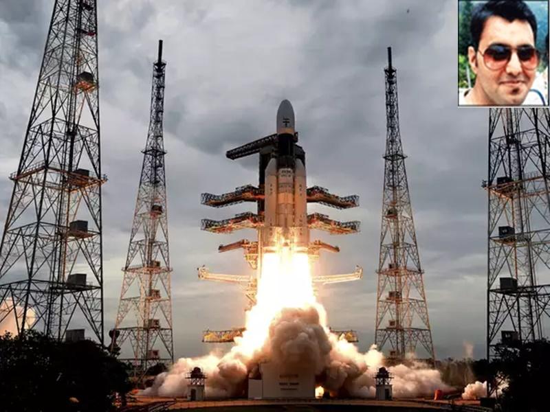 Chandrayaan-2 Launching : चंद्रयान-2 की लॉन्चिंग में शामिल थे MP के हिमांशु, इस काम को दिया अंजाम