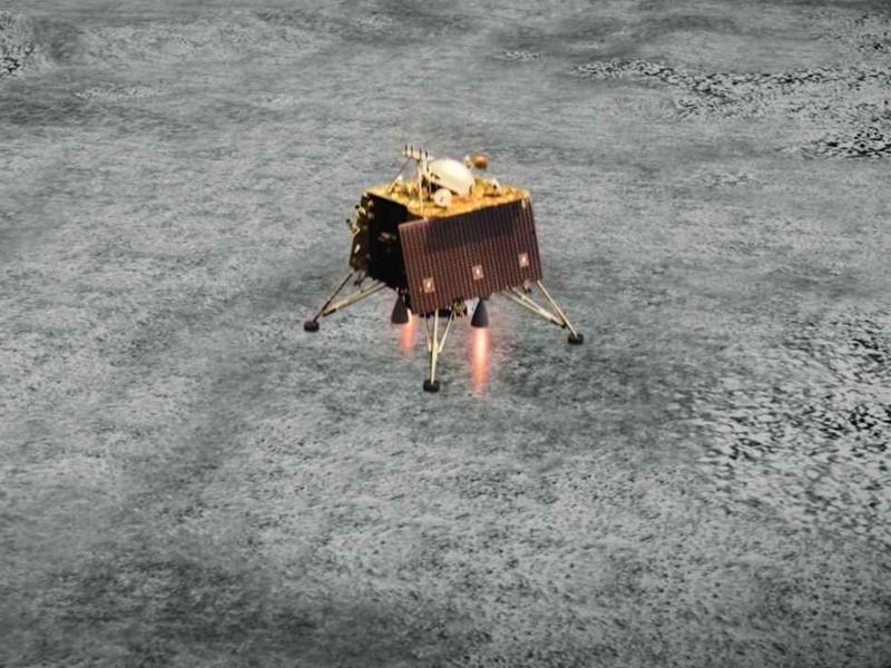 नासा के डीप स्पेस एंटीना ने बेजान पड़े विक्रम लैंडर को भेजा हैलो मैसेज