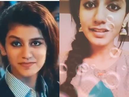 इंटरनेट सेंसेशन बनीं प्रिया प्रकाश का एक और वीडियो, गाया 'चन्ना मेरेया'