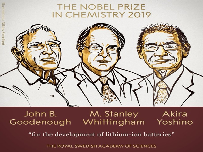 Nobel Prize in Chemistry: 97 साल के गुडइनफ सहित तीन वैज्ञानिक को मिला रसायन का नोबेल