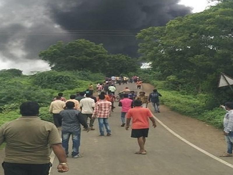VIDEO: महाराष्ट्र के धुले की केमिकल फैक्ट्री में विस्फोट, 12 की मौत, 58 घायल