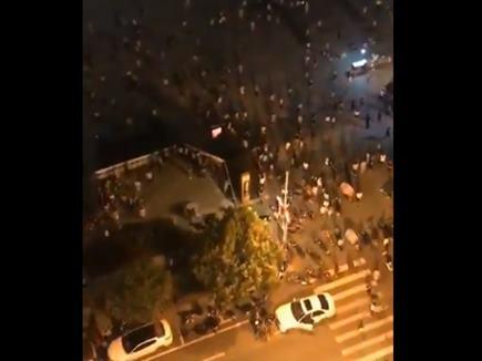 चीन में भीड़ पर चढ़ाई कार, 9 की मौत, 46 घायल