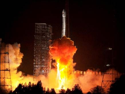 चीन ने सफलतापूर्वक लांच किया नया संचार उपग्रह