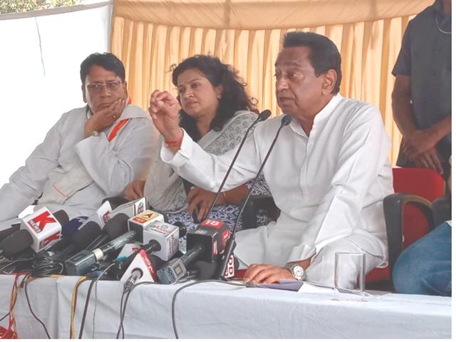 कर्जमाफी पर CM Kamal Nath का शिवराज पर वार, बोले- पोर्टल खोलना नहीं जानते