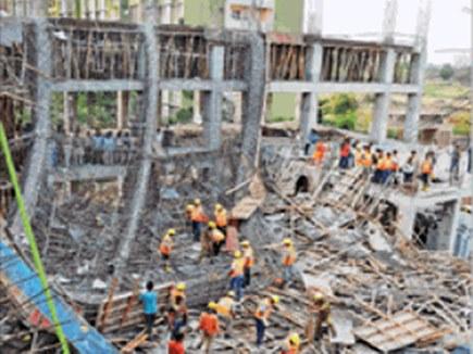 मजदूरों का आरोप, इंजीनियर ने निर्माण का जिम्मा सौंप दिया था नौसिखियों को