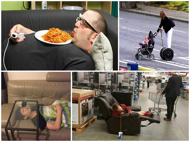 ये हैं दुनिया के सबसे आलसी इंसान, तस्वीरों में देखें इनके कारनामे