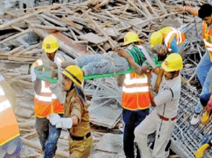 होटल हादसा:  मृत मजदूरों के परिजनों को मिलेंगे 4-4 लाख रूपए