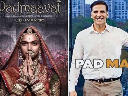 बड़ी खबर : 'पैड मैन' की रिलीज टली, 25 जनवरी को 'पद्मावत' होगी सिंगल रिलीज