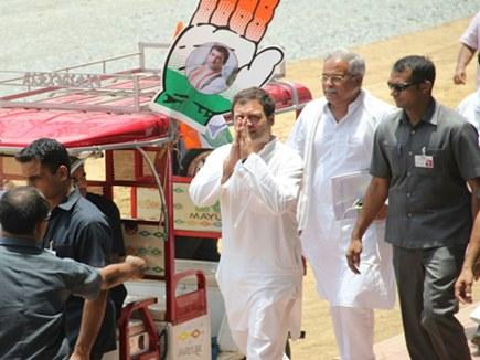 हमारी सरकार आई तो अपराधी सलाखों के पीछे होंगे: राहुल गांधी