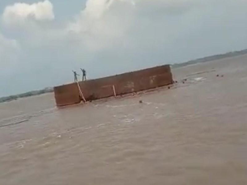 मुरैना में कंटेनर में सो गए 8 मजदूर, चंबल की बाढ़ में बहकर पहुंचे 40 किमी दूर