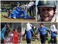 क्रिकेटर्स की इन फनी तस्वीरों को देख नहीं रोक पाएंगे अपनी हंसी