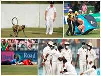 जब इन कारणों से रोकना पड़ा क्रिकेट मैच, देखें तस्वीरें