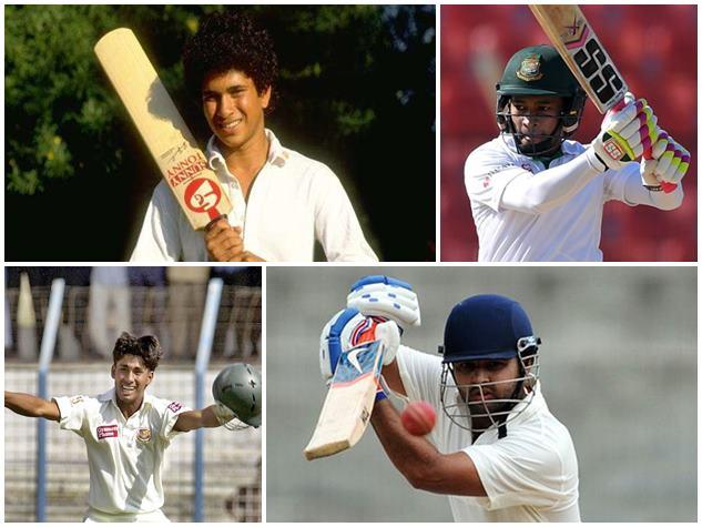 इन क्रिकेटर्स के नाम है सबसे कम उम्र में टेस्ट डेब्यू का रिकॉर्ड