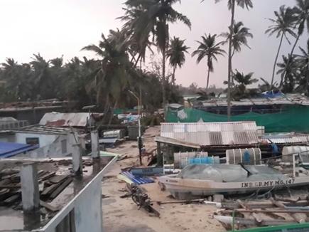ओखी से लक्षद्वीप में भारी नुकसान, तमिलनाडु के 1000 मछुआरे लापता