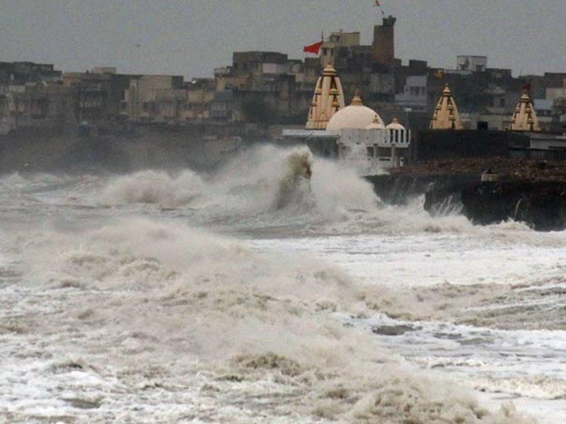 Cyclone Vayu : पीछे मुड़ेगा 'वायु', फिलहाल इस जगह है मौजूद, 17-18 जून को कच्छ तट पर देगा दस्तक