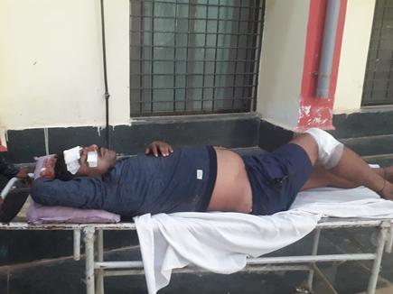दंतेवाड़ा जिले में जवानों का बोलेरो वाहन बस से टकराया, सात घायल