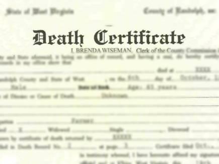 Image result for एक साल बाद भी मृत्यु प्रमाण