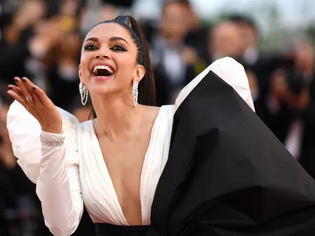 Cannes 2019: Viral हुआ दीपिका पादुकोण का स्टाइल, पति रणवीर ने हर फोटो पर किए Cute कमेंट्स