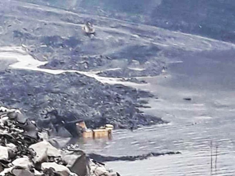 Chhattisgarh Water : दीपका खदान में बारिश से फिर 2 इंच बढ़ा जल स्तर