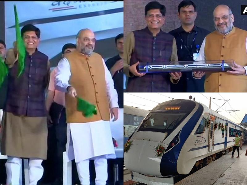 Delhi-Katra Vande Bharat Express: माता के भक्तों को तोहफा, गृहमंत्री ने दिल्ली-कटरा वंदे भारत को दिखाई हरी झंडी