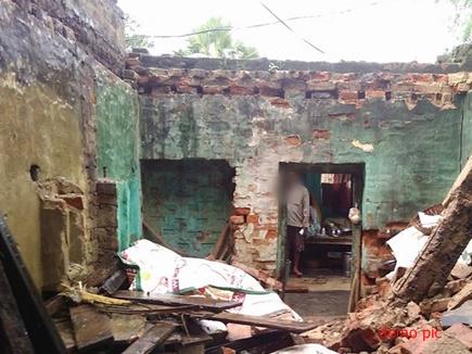 मुरैना-दतिया में आंधी के साथ बारिश, मकान ढहने से बच्ची की मौत, 7 घायल