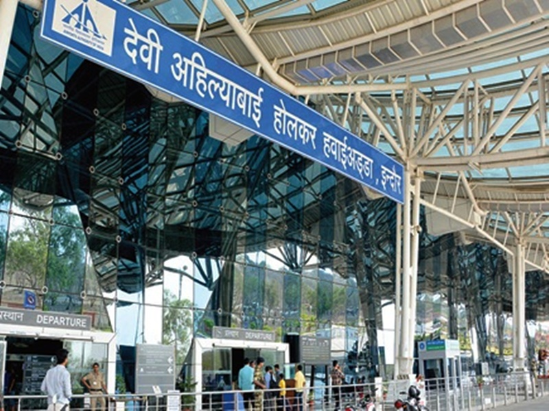एमपी-सीजी का पहला इंटरनेशनल एयरपोर्ट बना इंदौर, एयरलाइंस का इंतजार