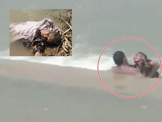Dewas: शराब पिलाकर महिला को पानी में डुबाया, लोगों ने बनाया वीडियो