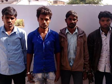 छात्रा से सामूहिक दुष्कर्म, चार युवक गिरफ्तार